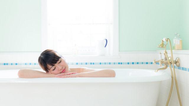 寝る前の入浴はリラックス効果あり