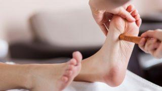 子宮筋腫に効く足つぼマッサージ