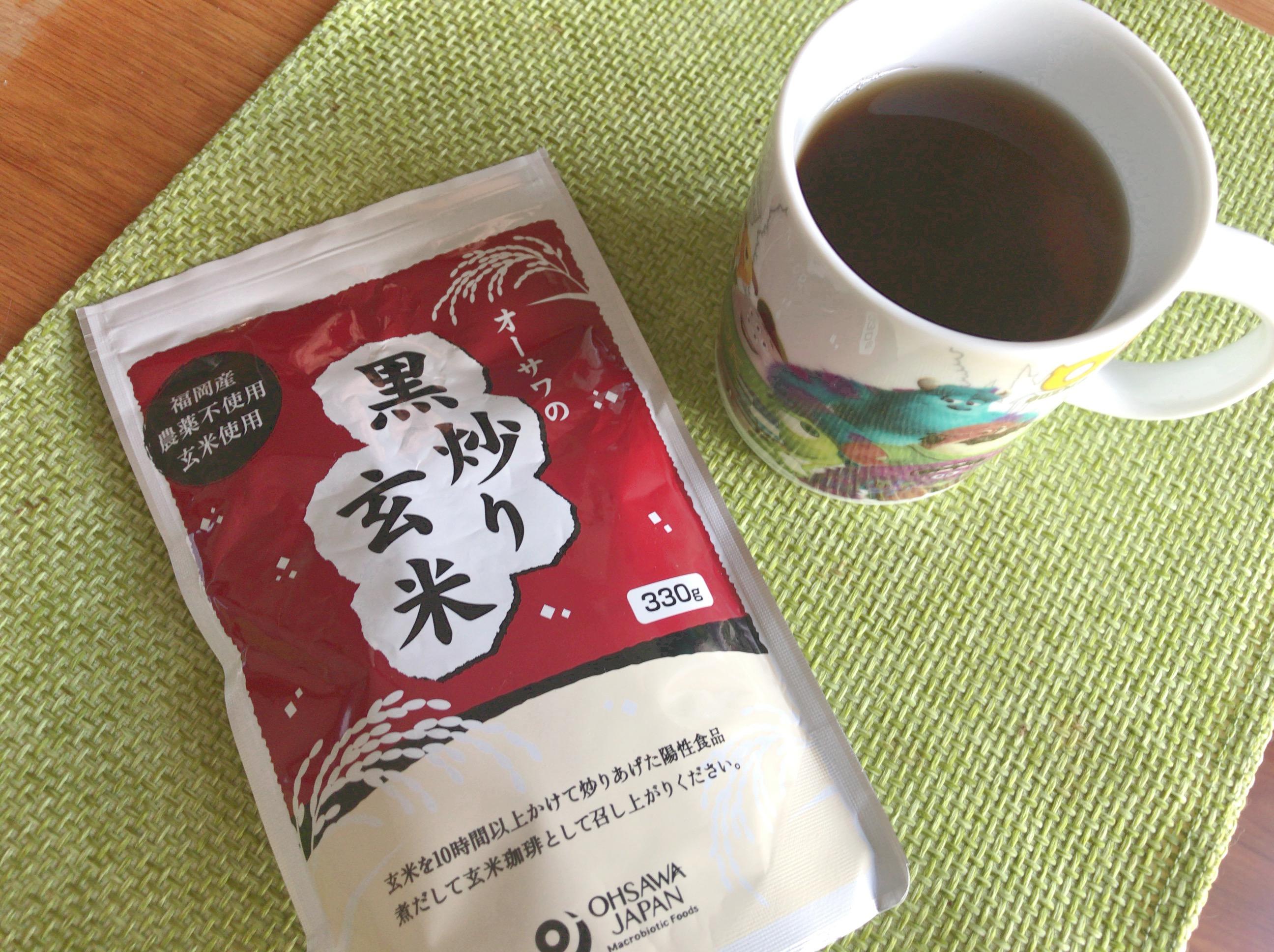 子宮筋腫に効く黒炒り玄米茶